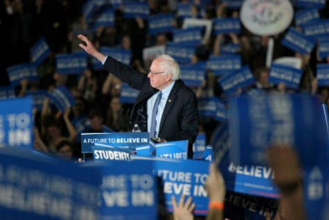 Bernie Sanders speaks to thousands at UMass Amherst rally