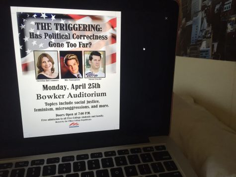 """UMass students react poorly to """"The Triggering"""" panel"""