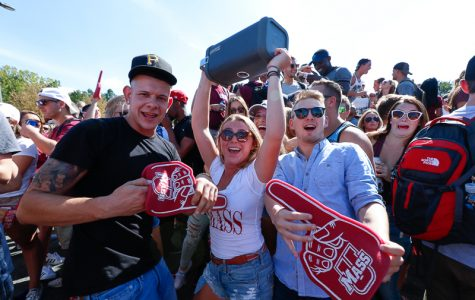Slideshow: UMass students tailgate before Minuteman victory