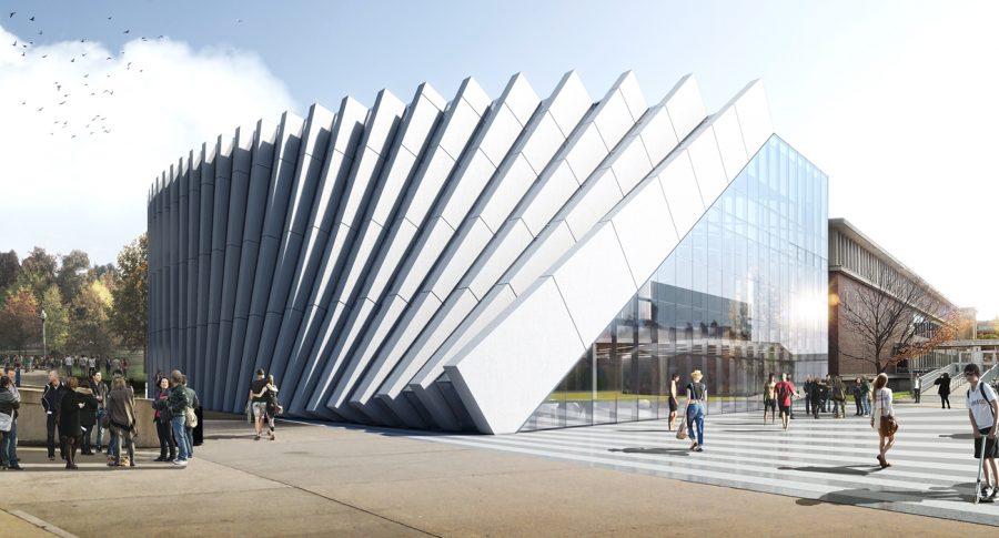 The exterior design for the Isenberg Business Innovation Hub. (Photo/Isenberg Website)