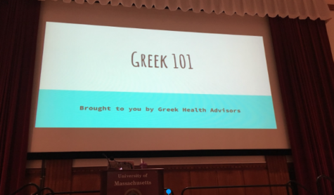 UMass Greek community welcomes new members