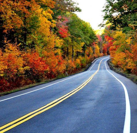 Route 202, Daniel Shays Highway in Pelham