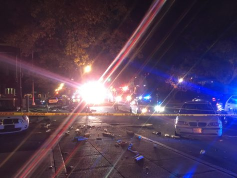 Police identify victim in bus stop crash, seek driver