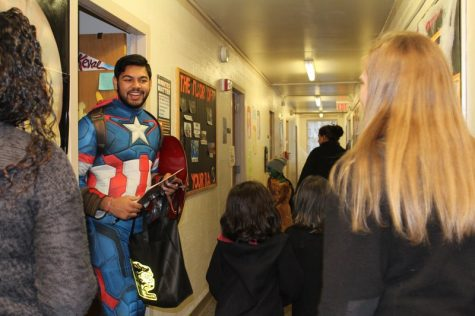 Northeast dorms welcome all kinds of trick-or-treaters