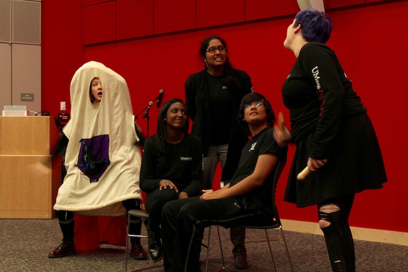 'Not Ready For Bedtime Players' reinvents health class on campus