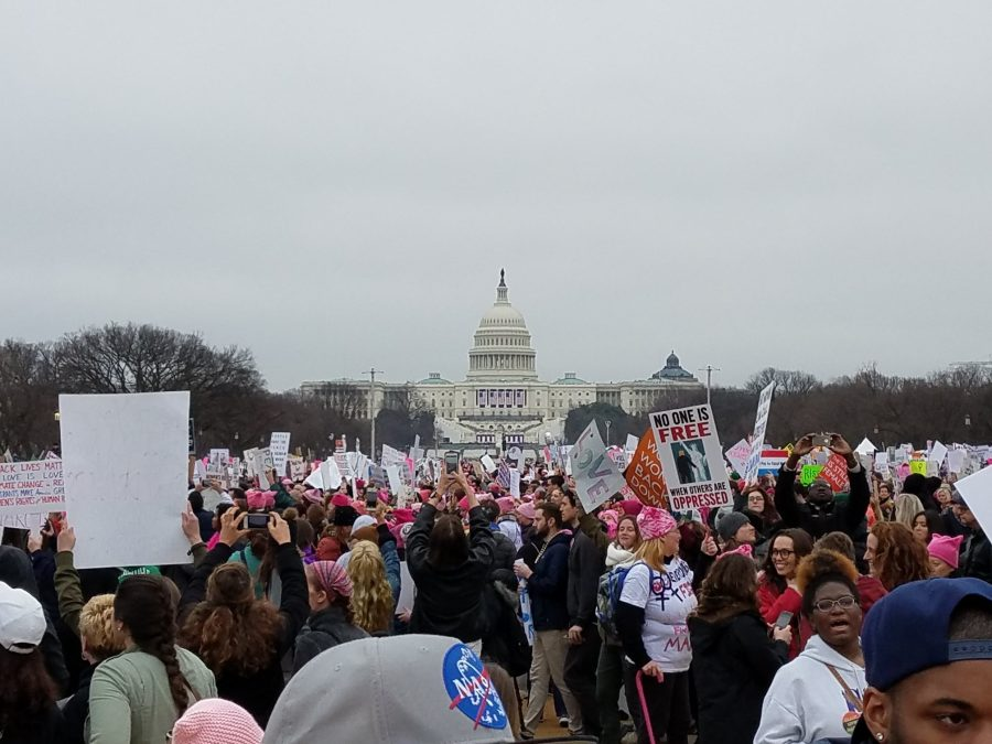 From D.C. to Dublin: A first-hand look at Women's Marches around the world