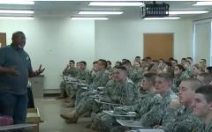 WATCH: UMass ROTC hosts cyber warfare expert