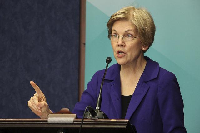 Elizabeth+Warren.+Taken+on+June+9%2C+2016.+%28New+American%2FFlickr%29