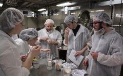 Food science seniors prepare for ice cream competition