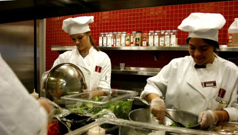 Inside Marriott Meals at UMass