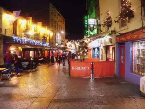 Finding warmth in a cold, Irish city