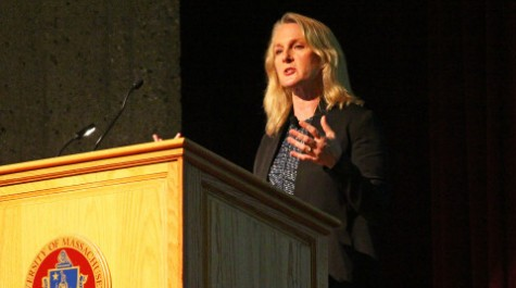 """Incarceration and injustice: """"Orange is the New Black"""" author Piper Kerman talks at UMass"""