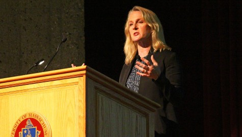 "Incarceration and injustice: ""Orange is the New Black"" author Piper Kerman talks at UMass"