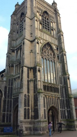An American abroad in Norwich, England
