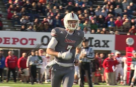 Frohnapfel discusses experiences as UMass quarterback and future plans