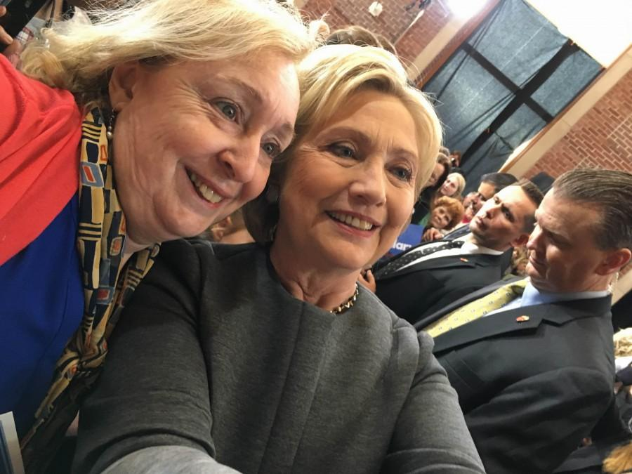 Hillary Clinton's campaign stop in Springfield