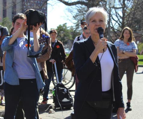 Jill Stein visits UMass