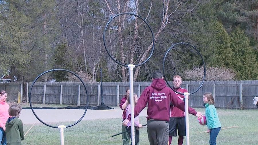 UMass Quidditch gives back