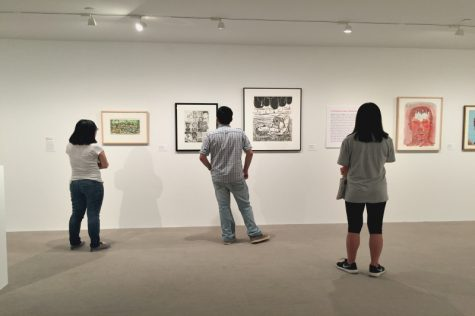 New art exhibit on campus draws from the past, looks to the future