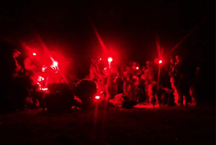 A day and night with the cadets of the Minuteman Battalion