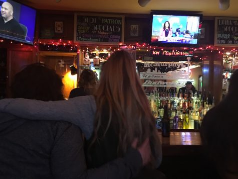 College students reflect on Trump upset at downtown bar