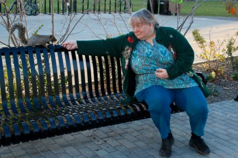 Sue Dreyer: the UMass 'squirrel lady'