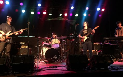 The band performs both originals and covers throughout the semester, including Friday night shows at The Pub in Downtown Amherst.