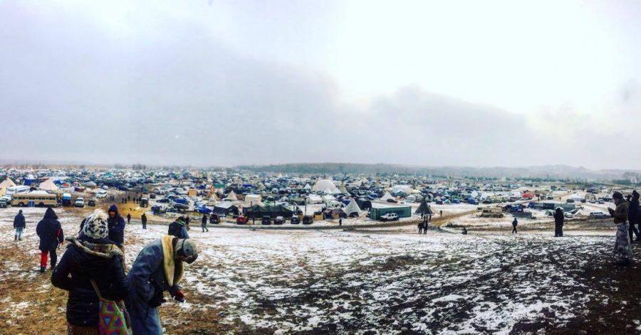 Standing Rock, North Dakota. Oceti Sakowin Camp. Photo courtesy of Victoria Carrier.