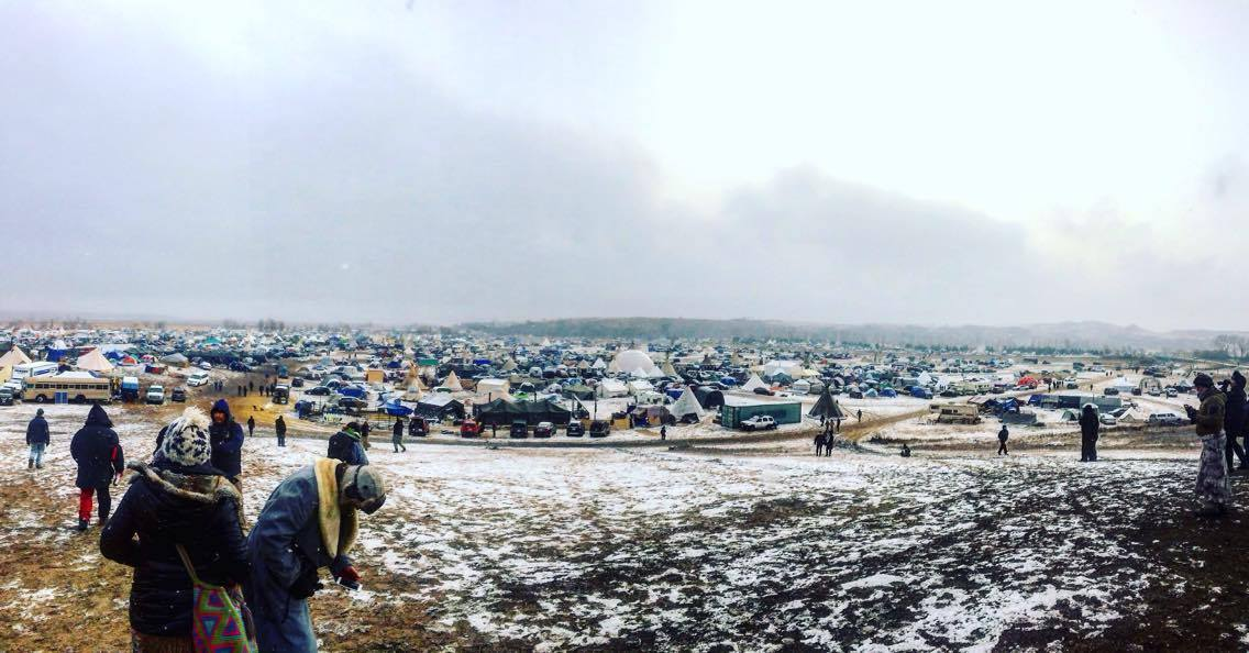 Standing Rock, North Dakota. Oceti Sakowin Camp. Photo courtesy of Victoria Carrier.