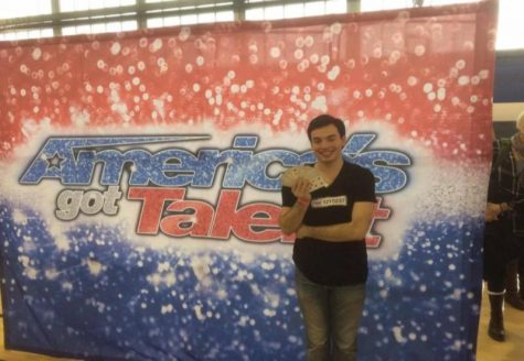 Campus magician auditions for America's Got Talent