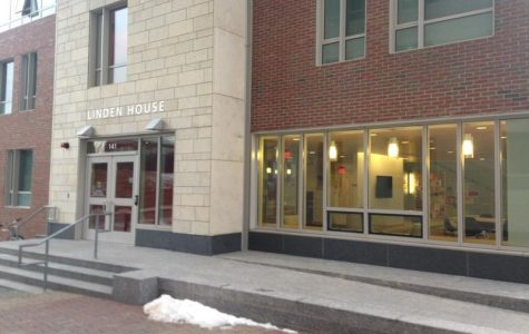Students evacuate Linden Hall after apartment fire