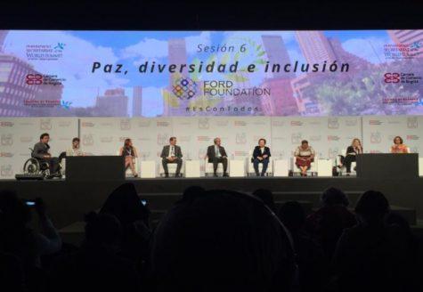 UMass senior attends World Summit of Nobel Peace Laureates