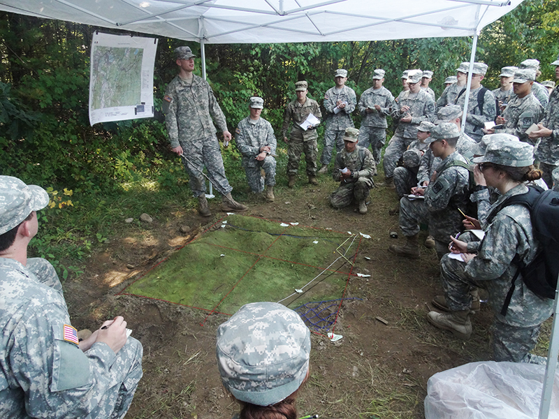 Maps and machine guns: UMass ROTC is back in action