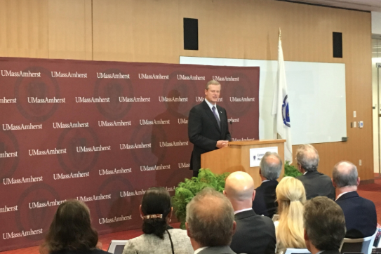 Gov. Baker awards grants to UMass researchers for smart band-aids