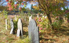 Halloween hype doesn't impact local cemeteries; but homeless do