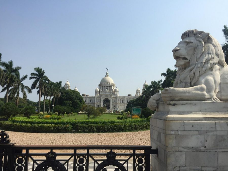 Victoria Memorial-  This memorial was introduced to the public in 1921 in the memory of Queen Victoria. (Isha Mahajan/Amherst Wire).