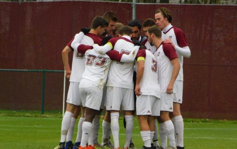 Propelled by local talent, UMass Men's Soccer wins league