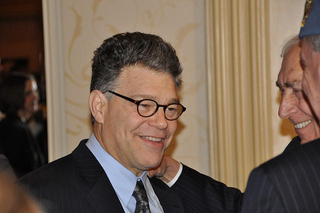 Senator+Al+Franken+%28D-MN%29+announced+his+intention+to+resign+from+the+U.S.+senate+on+Thursday.+%28Image+courtesy+of+Veni+via+Flickr%29.