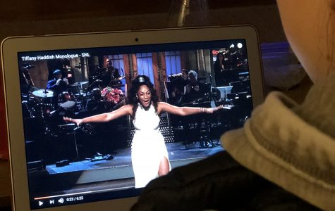 Tiffany Haddish makes history on SNL