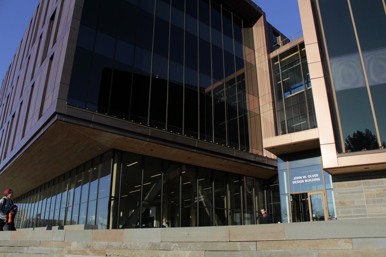 John W. Olver Design Building (Brian Choquet/ Amherst Wire)