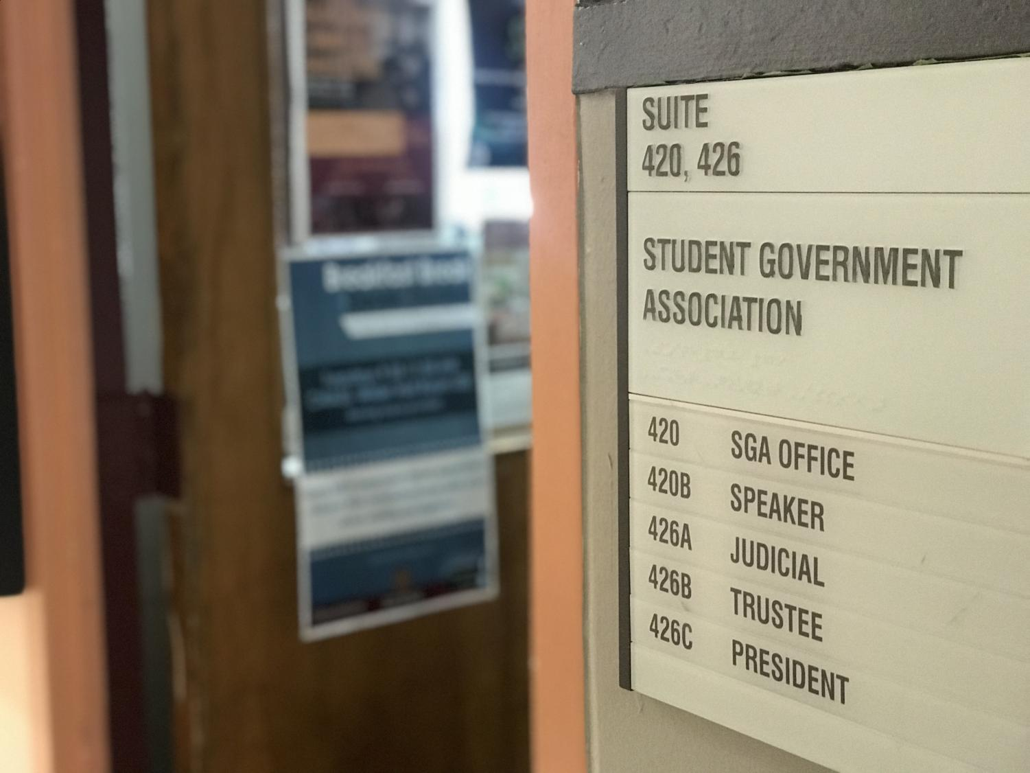 The Student Government Association office is located in Student Union room 420 (Elissa Borden/Amherst Wire).