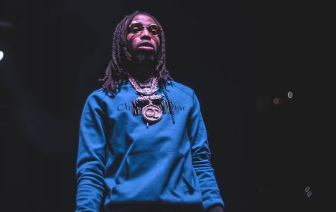 Quavo of Migos at live performance. (Moses Vega/Unsplash)