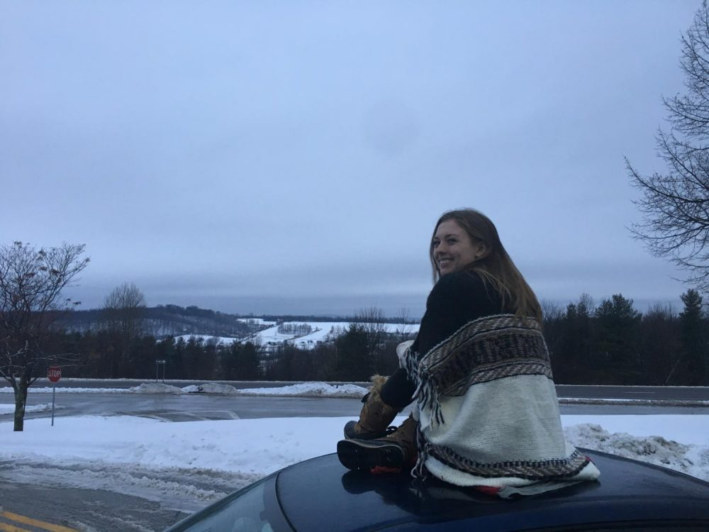 UMass senior Stephanie Murray on a trip to Canada. (Stephanie Murray/Amherst Wire)
