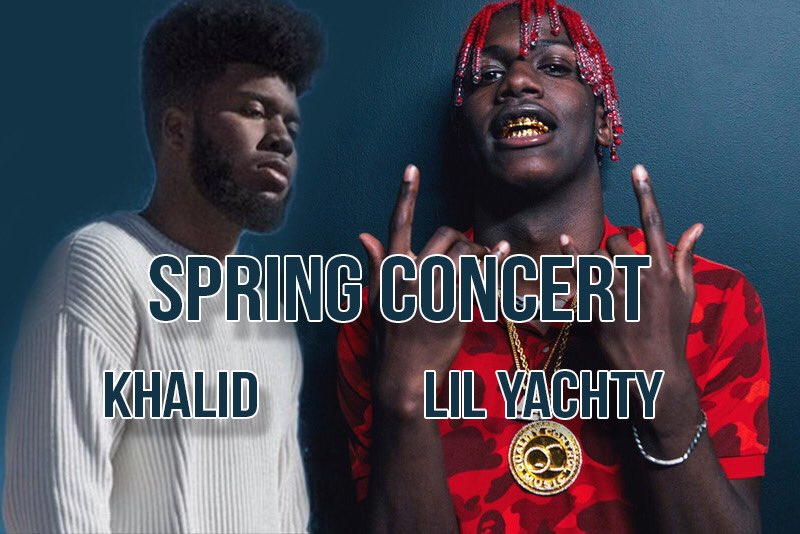 Artists+Khalid+and+Lil+Yachty+named+to+perform+at+Spring+Concert+2018.+%28Image+courtesy+of+ZooMass%29