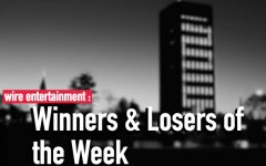 Entertainment winners, losers of the week