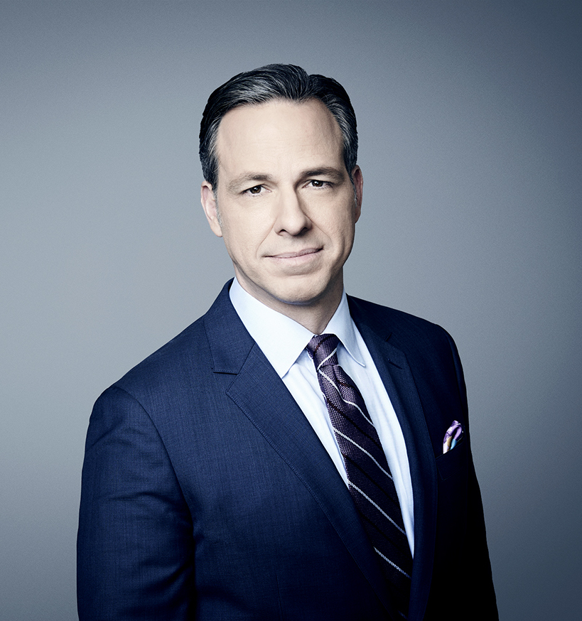 CNN anchor Jake Tapper will speak at this year's Commencement, Friday, May 11.