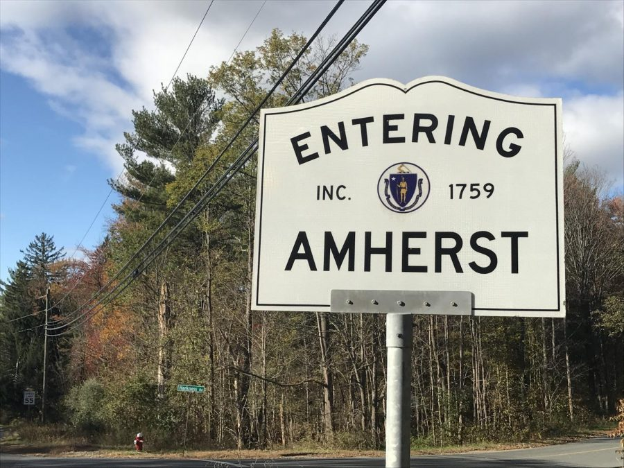 Amherst Sign