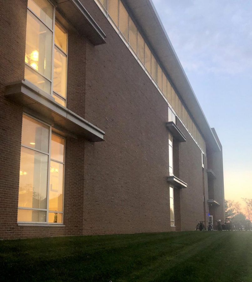 The Campus Recreation Center (Isabel Fowler/ Amherst Wire)