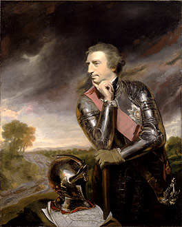 Portrait of Lord Jeffrey Amherst.