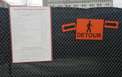 Student Union detours and renovation get mixed reactions
